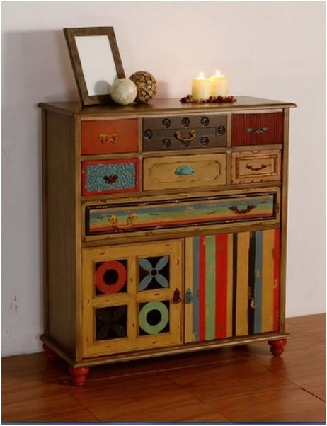 Comodas vintage buscar con google colores para muebles - Sofas antiguos de madera ...