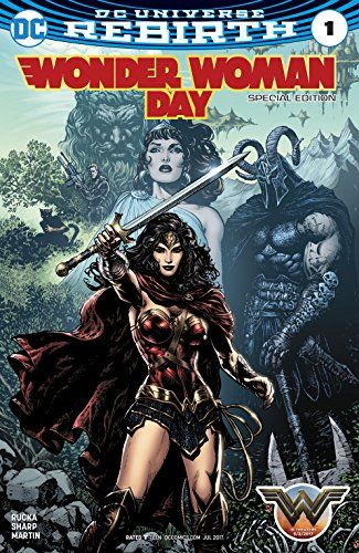 Free for Kindle! Wonder Woman Day Special Edition (2017