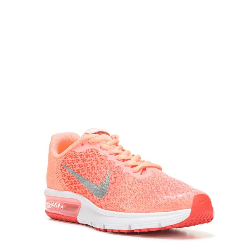 Nike Kids' Air Max Sequent 2 Running Shoe Grade School Shoes (Lava Glow)