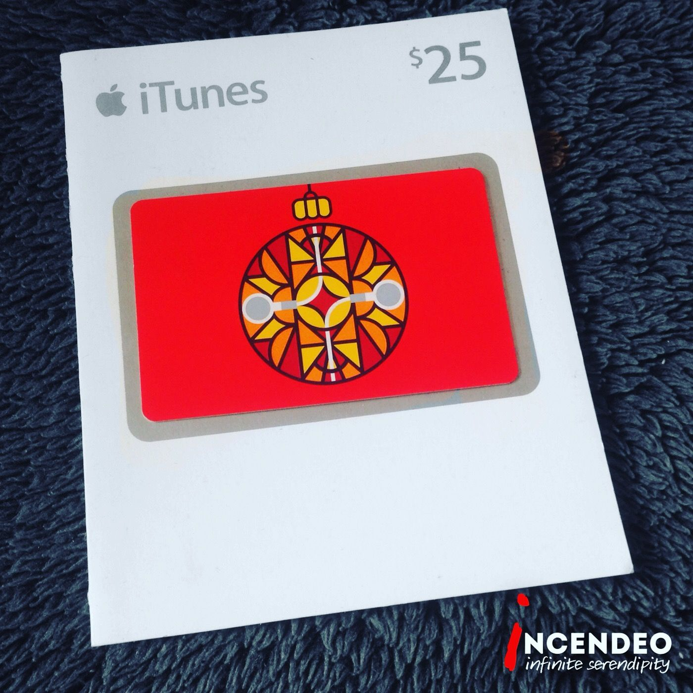 Apple iTunes 25 Limted Edition Gift Card. apple itunes