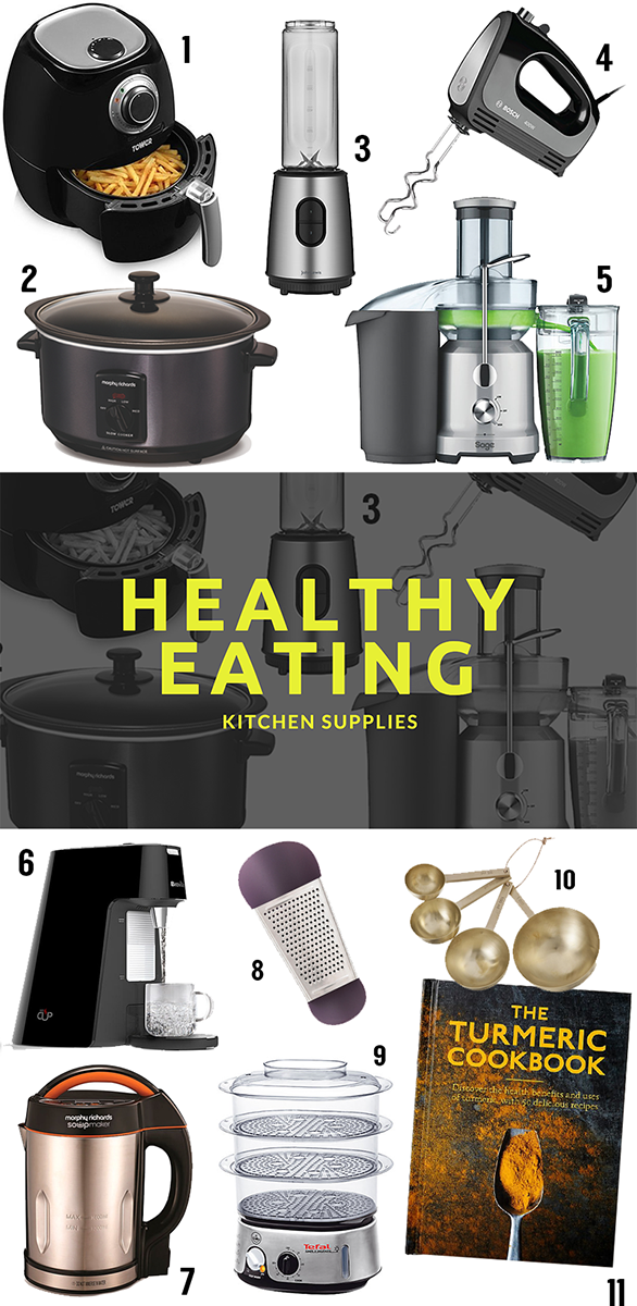 Essential Kitchen Appliances For Keeping Up With Your Healthy Eat