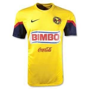 hot sales d3828 e5c0a 12/13 Club America Aguilas Home Yellow Soccer Jersey Shirt ...
