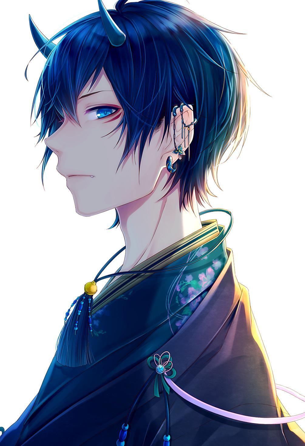 Pinterest in 2020 Anime demon boy, Handsome anime