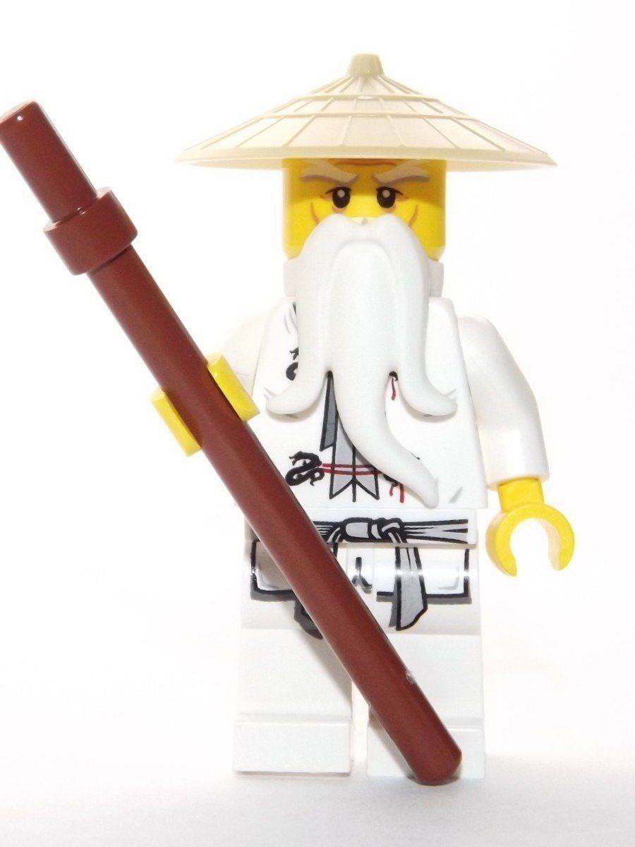 Lego Ninjago Sensei Wu Minifigure Amazon Fr Jeux Et Jouets Lego Ninjago Visages Lego Idees Lego
