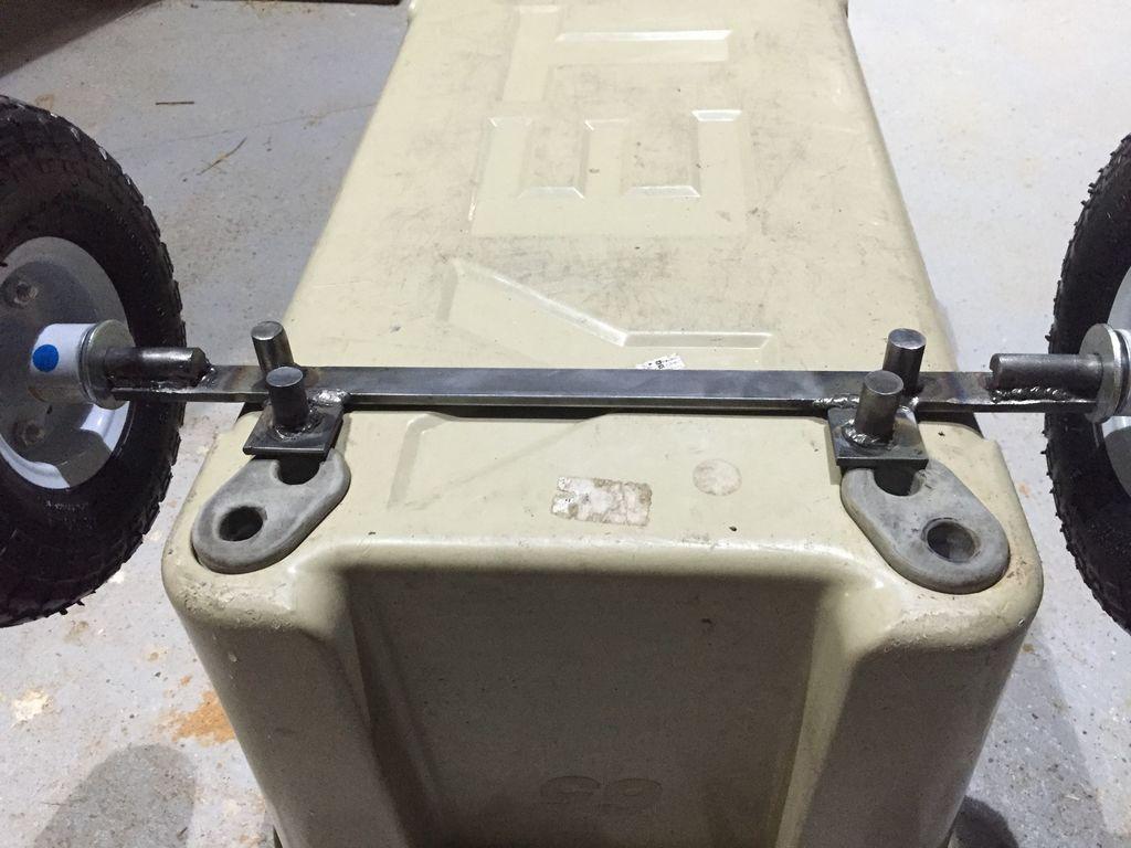 Orca Or Yeti Cooler Wheels Diy Cooler Yeti Cooler Cooler Cart
