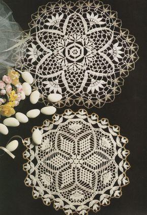 Doily PDF Crochet Pattern : Doily Round Mat . Placemat . Tablemat . Doiley . Doilies . Mandala . Instant Digital Download by PDFKnittingCrochet on Etsy