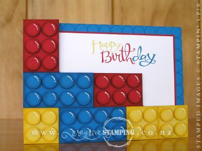 Today is my nephews 3rd birthday so I created a lego birthday – Lego Birthday Card