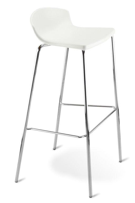 Easy Tabouret Haut 4 Pieds Design Ezda Sokoa