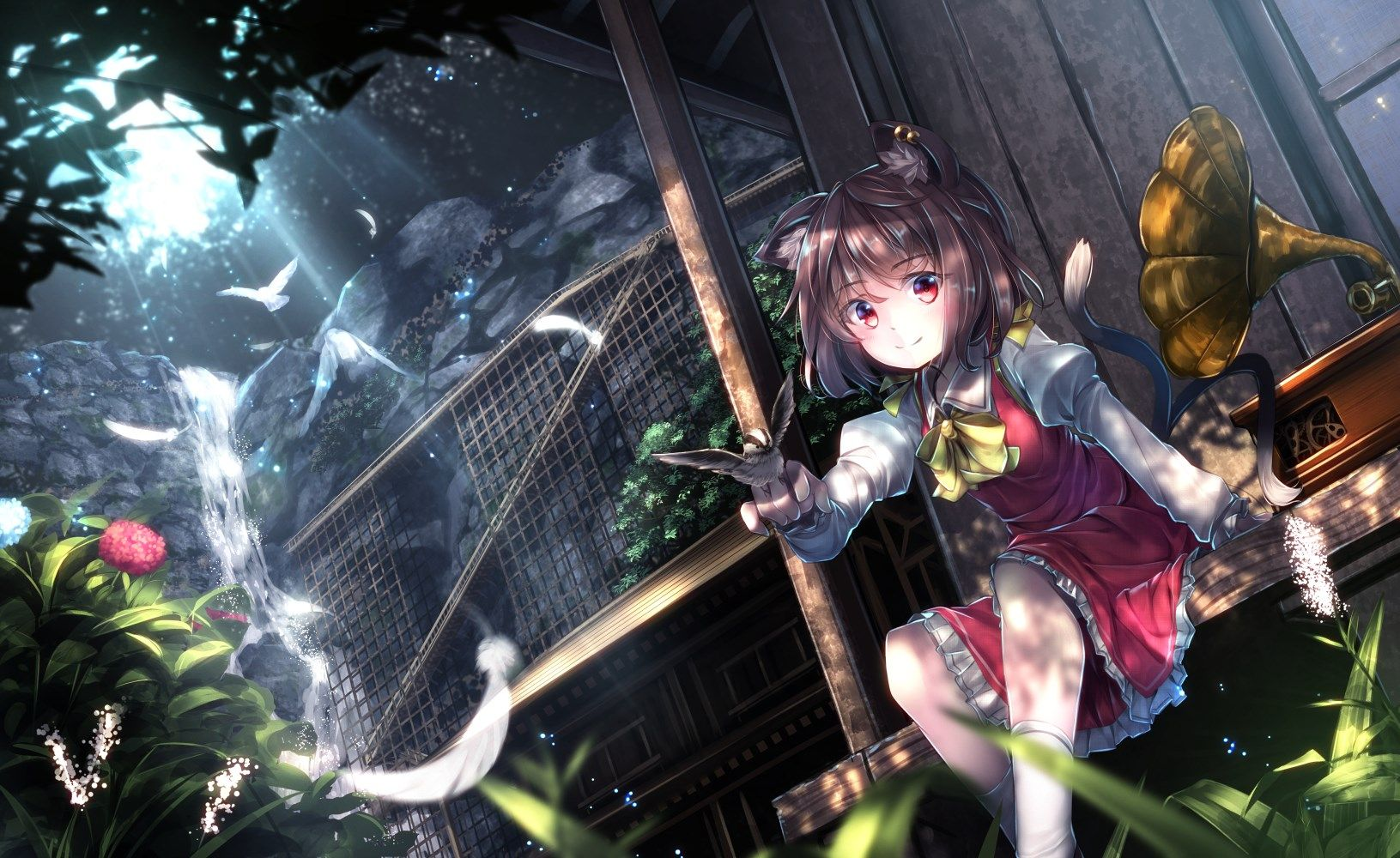 touhou desktop in 2019 Animated wallpapers for mobile