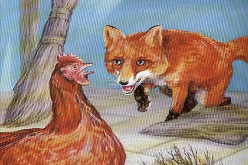 بسم الله الرحمن الرحيم قصة الثعلب الماكر في قرية صغيرة كانت تعيش امرأة عجوز وحيدة وكان لهذه العجوز كن تربي فيه الدجاج تس Zbrush Places To Visit Animals