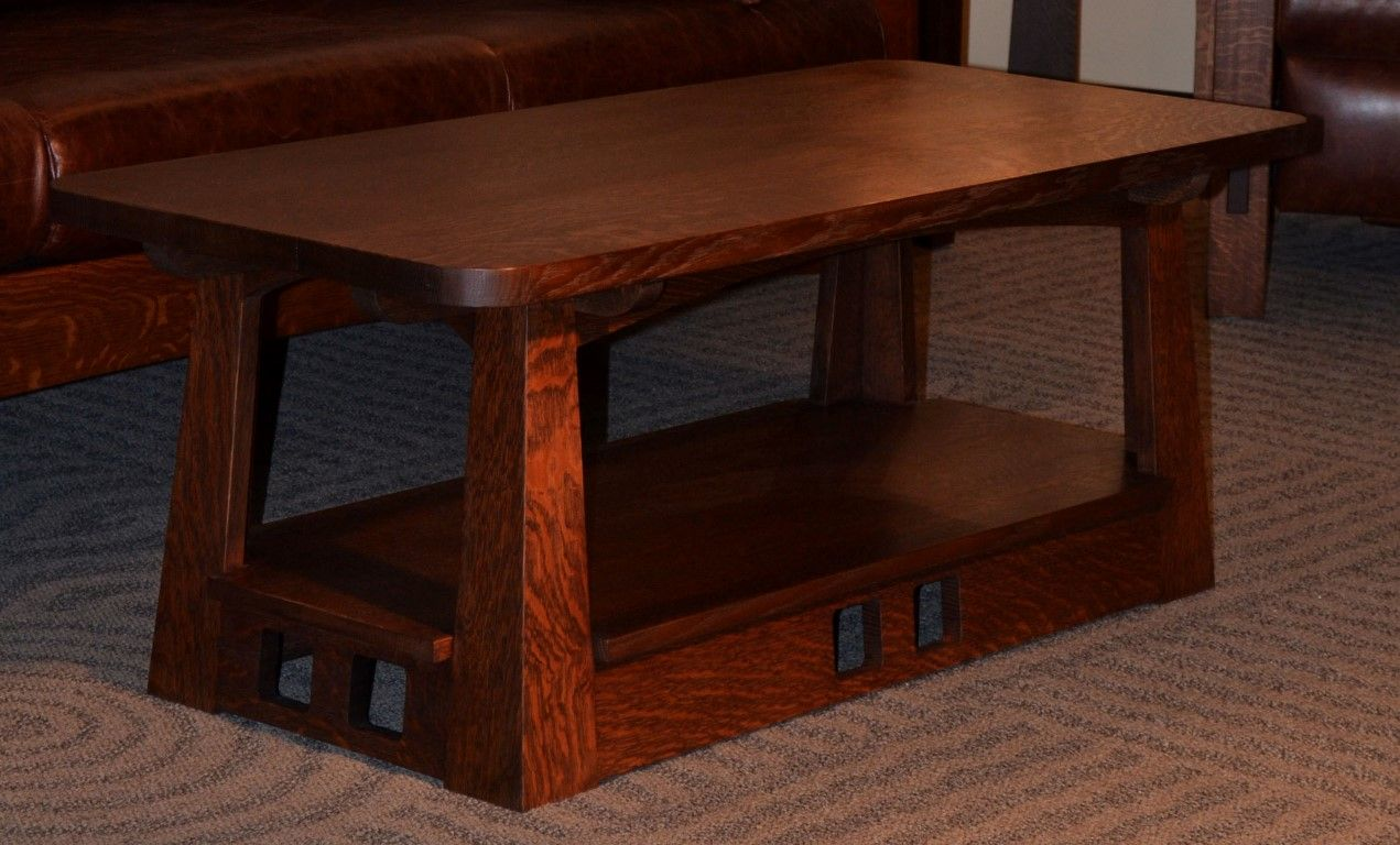 Limbert Style Mission Arts and Crafts Coffee Table My Dream Home