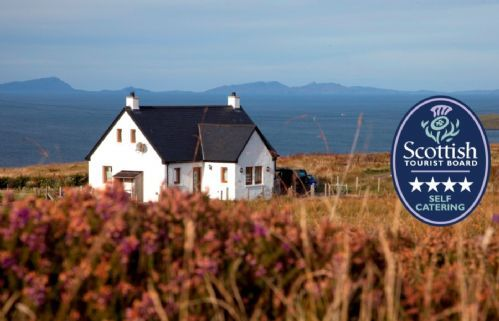 Four star luxury at the Cottage at Tir Nan Og, Dunhallin, a sumptuous holiday home for two on the Waternish Peninsula, Isle of Skye.