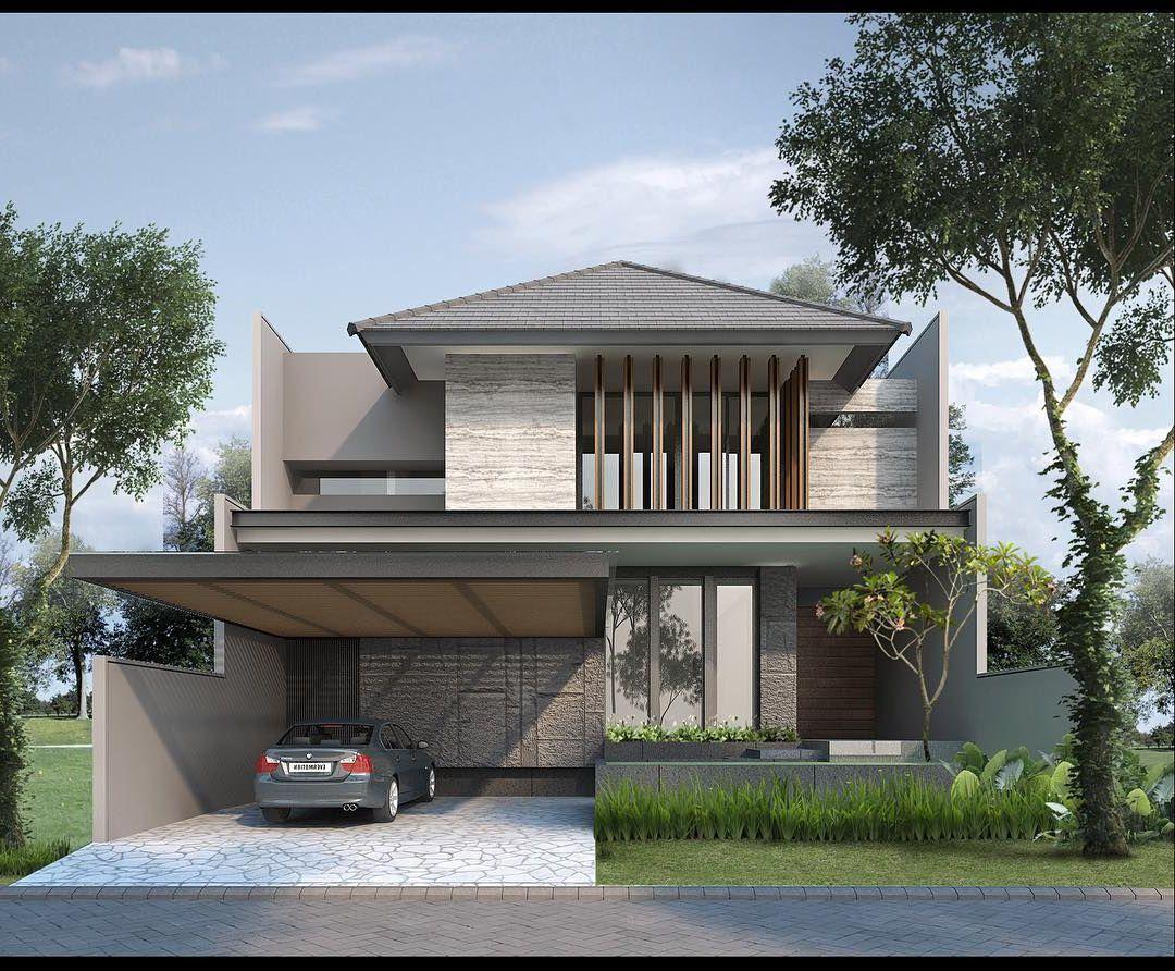 Pin Oleh Magalys Espinosa Di House Desain Rumah Eksterior Arsitektur Rumah Arsitektur