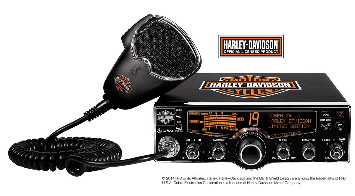 Cobra S Branded Cb Radio Harley Davidson Cb Radio Harley