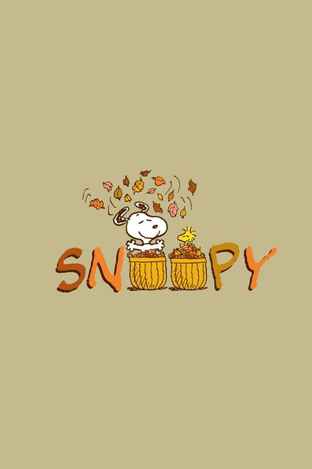 Wallpaper Ipod Iphone Snoopy Wallpaper Thanksgiving Snoopy Thanksgiving Wallpaper