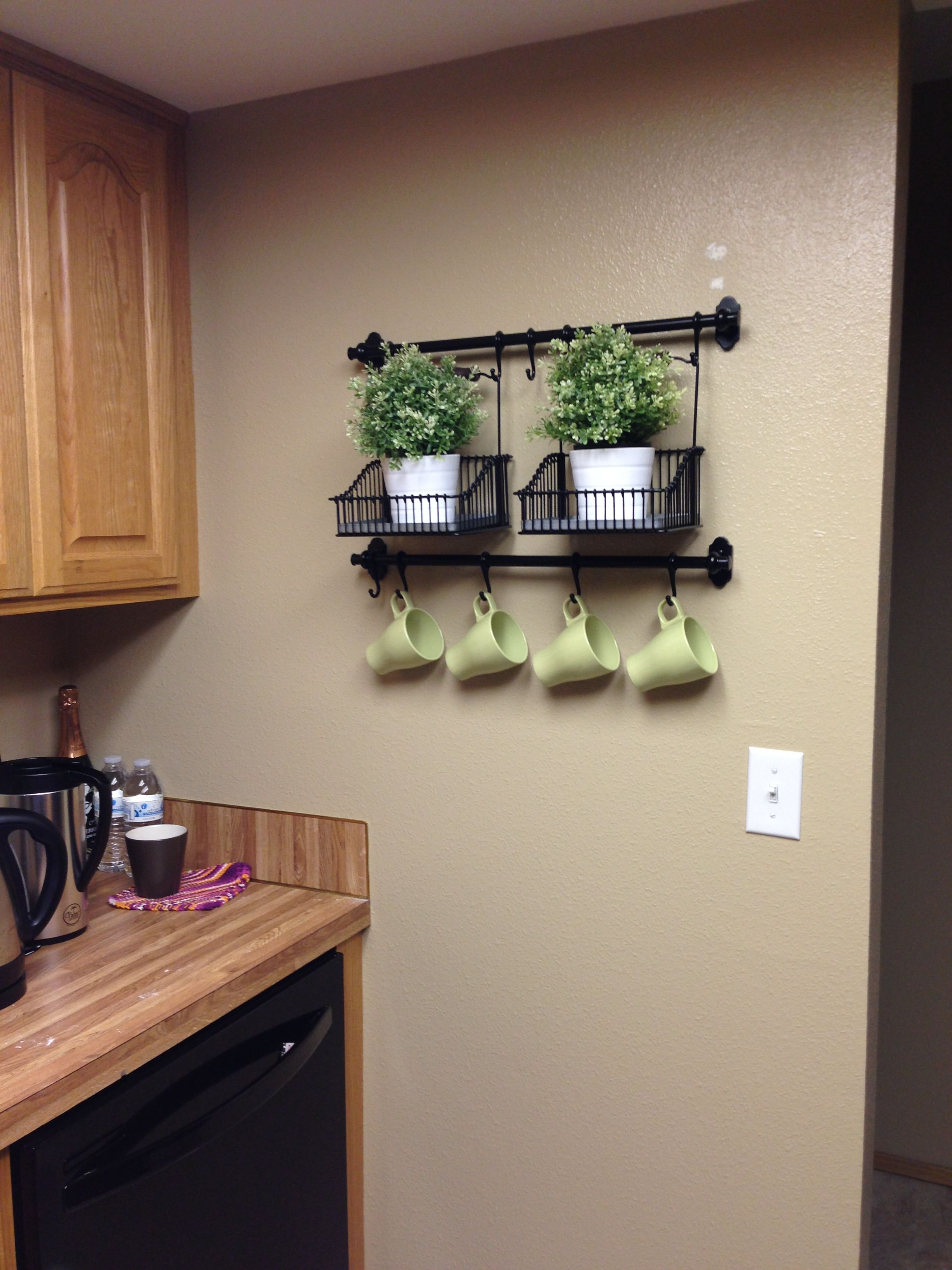 New kitchen wall decoration:)