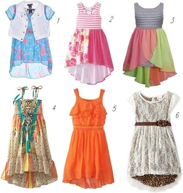 Images of Spring Dresses For Girls - Reikian