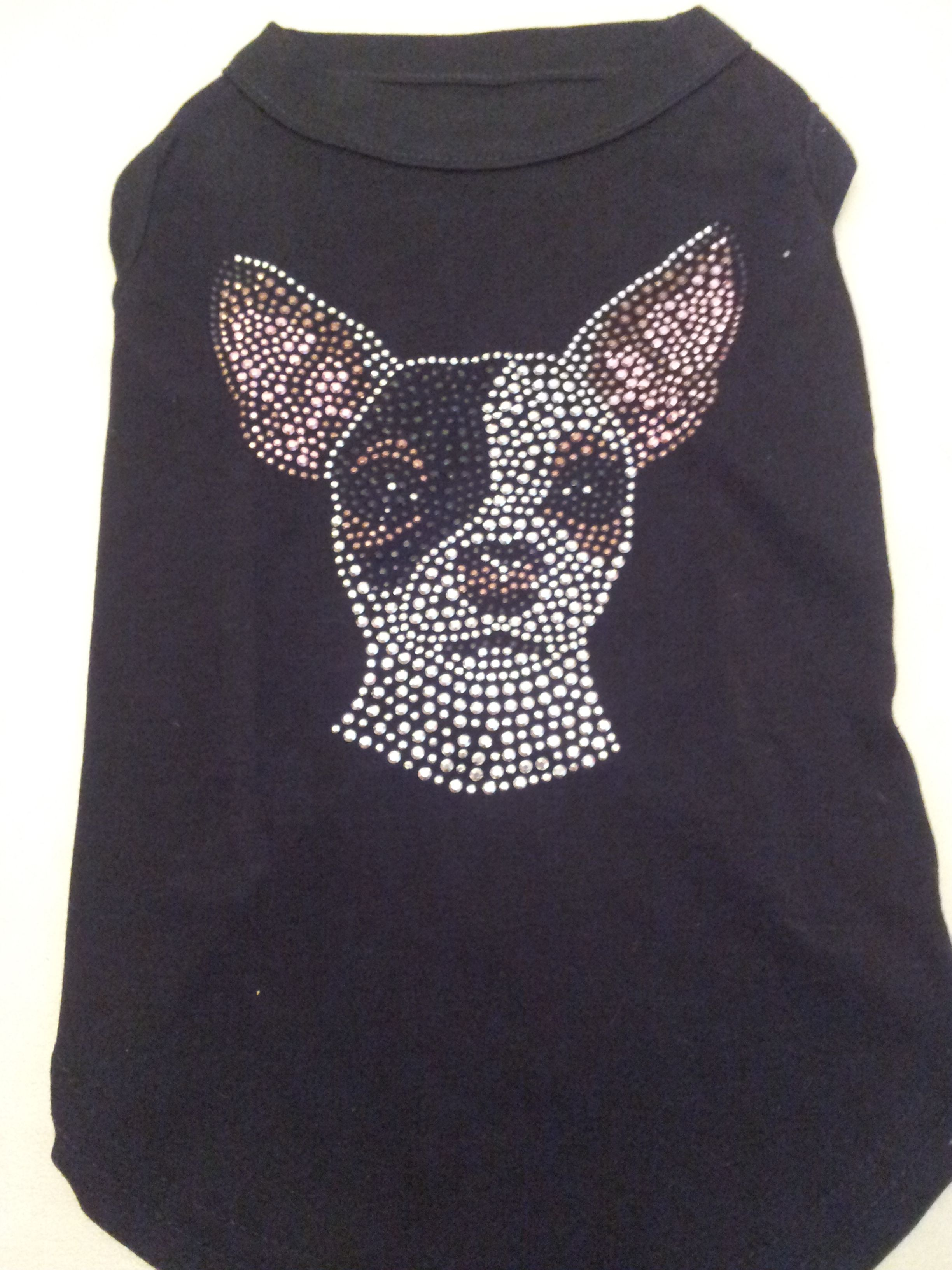 Tshirt Met Strass Chihuahua 19 95 Diversen Maten En Kleuren