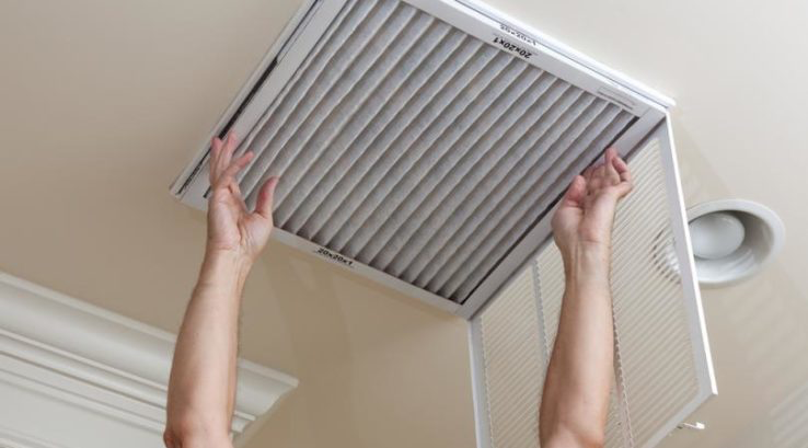 For homes that have a ventilation system in their home