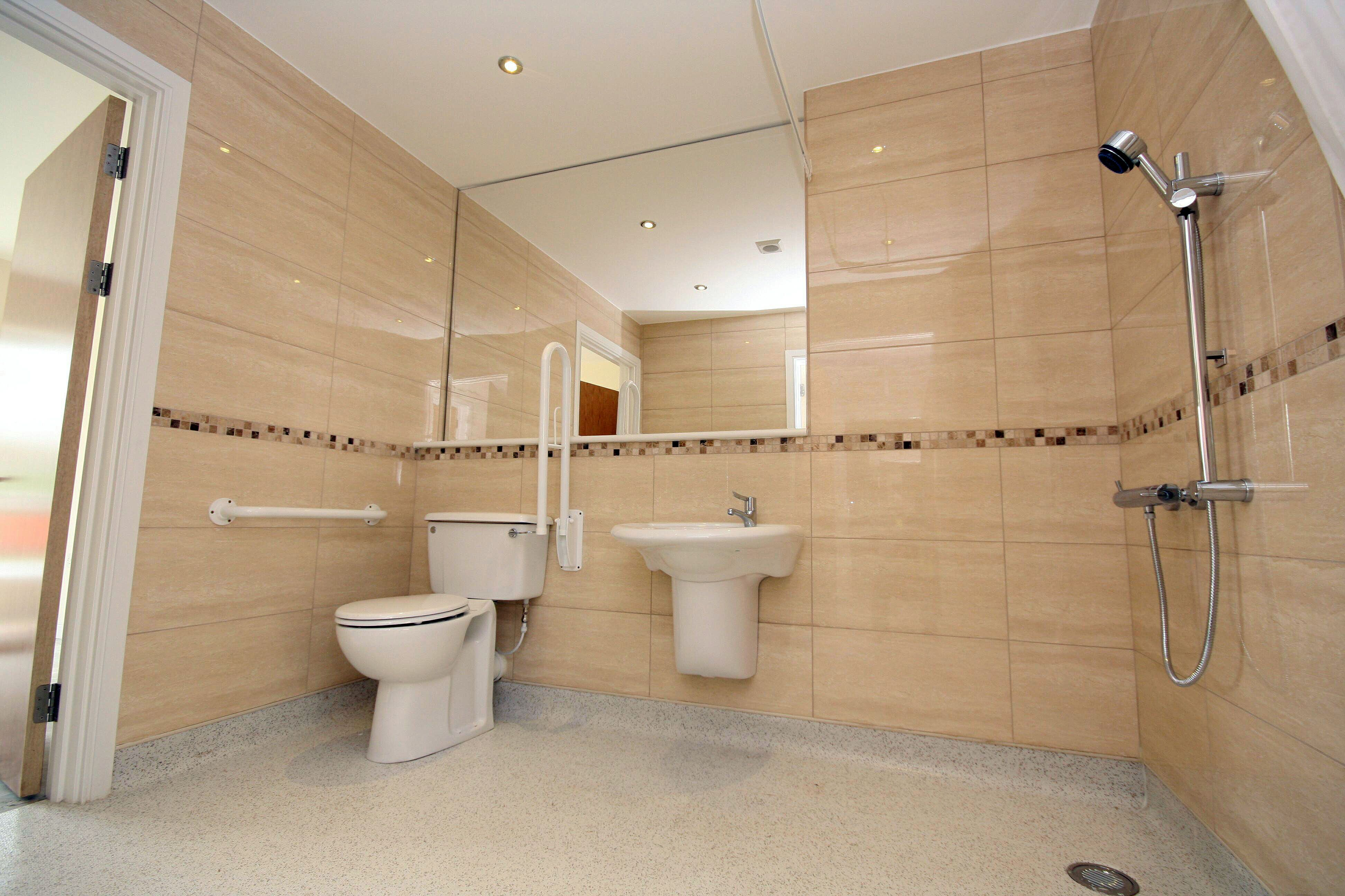 Wet Room For A Young Disabled Boy Allowing Room And