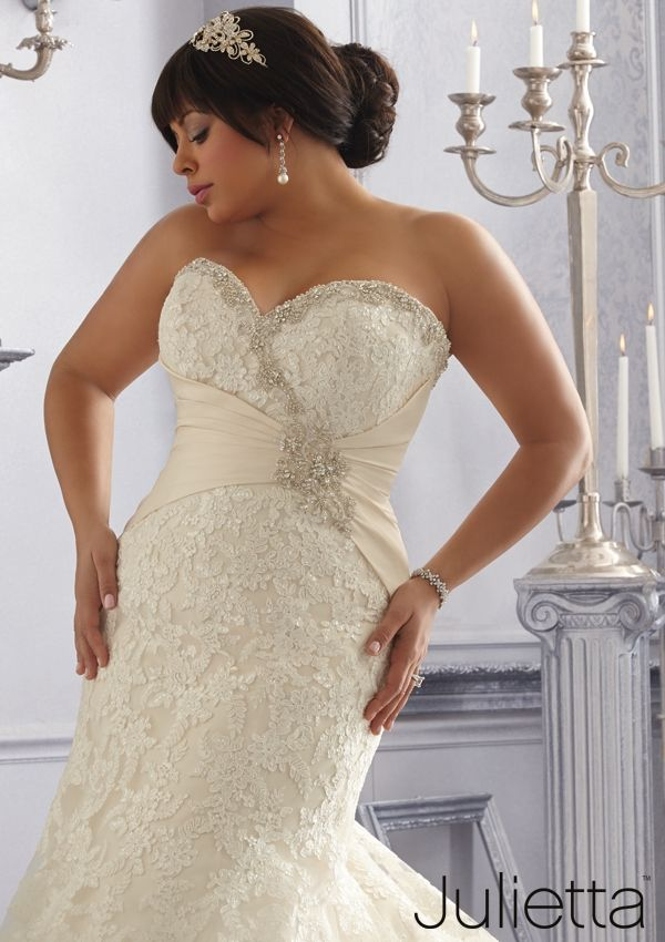 Great Wedding Dress From Julietta By Mori Lee Dress Style Crystal Beaded Emboridery and Appliques on