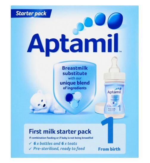 cheapest buying now authorized site Aptamil 1 First Milk from Birth Starter Pack - Boots ...
