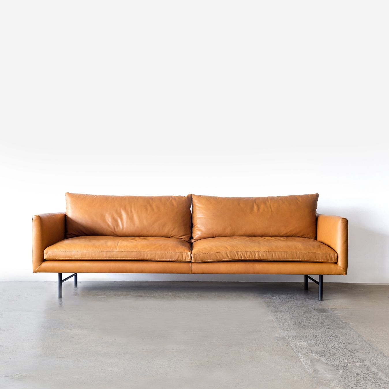 From Every Angle The Louis Welcomes With Open Arms As A Roomy Sofa Chair Or Ottoman Its Proportions Best Leather Sofa Leather Sofa Louis Sofa