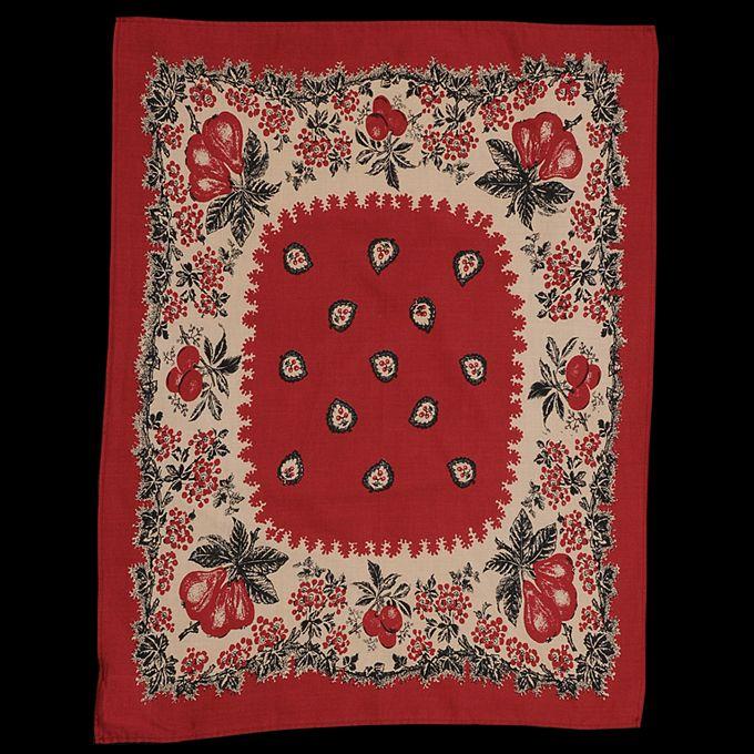 Rétro Denim bandana foulard.