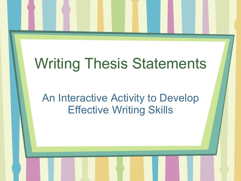 thesis development exercises Education and professional development commons this thesis is brought to you for free and open access by the sit graduate institute at sit digital collections.