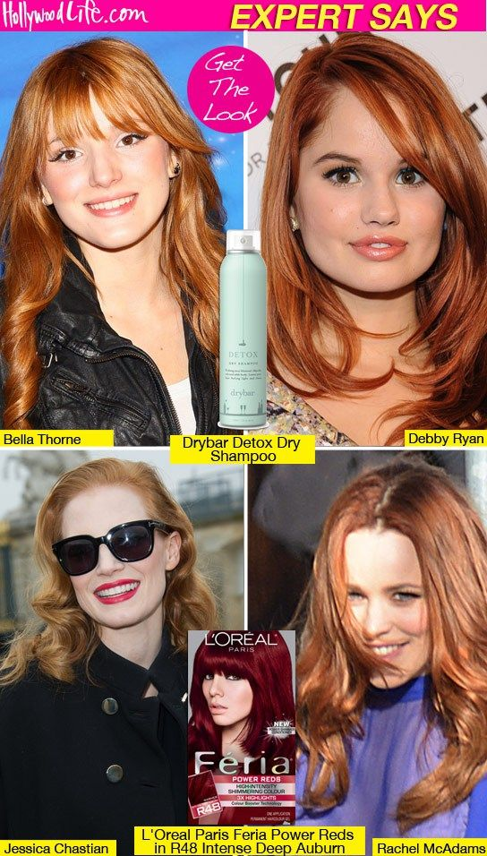 How To Dye Hair Red Like Rachel Mcadams Get The Red Hot Trend At