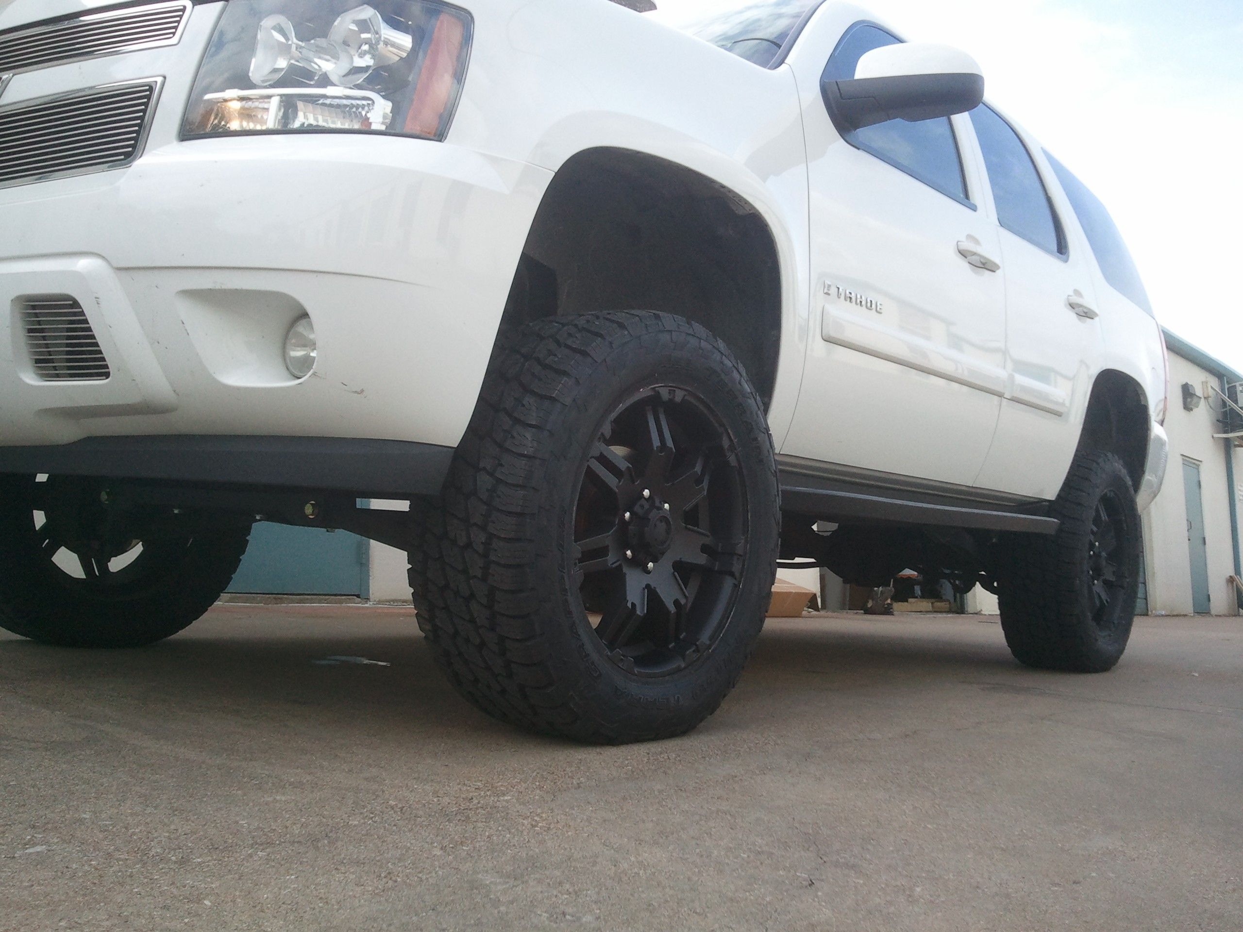 Chevrolet tahoe 6 5 lift kit