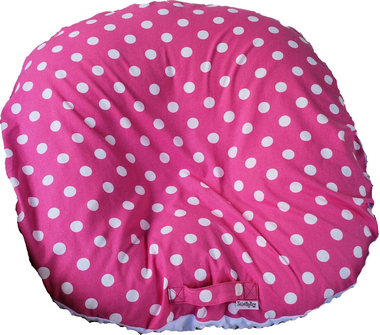 Boppy Slipcover / Pillowcase for the Boppy Newborn Lounger Pillow - Baby Girl. $14.99, via Etsy.