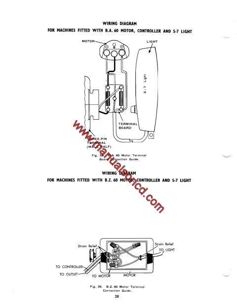 singer 193m  194m  227m  228m sewing machine service manual