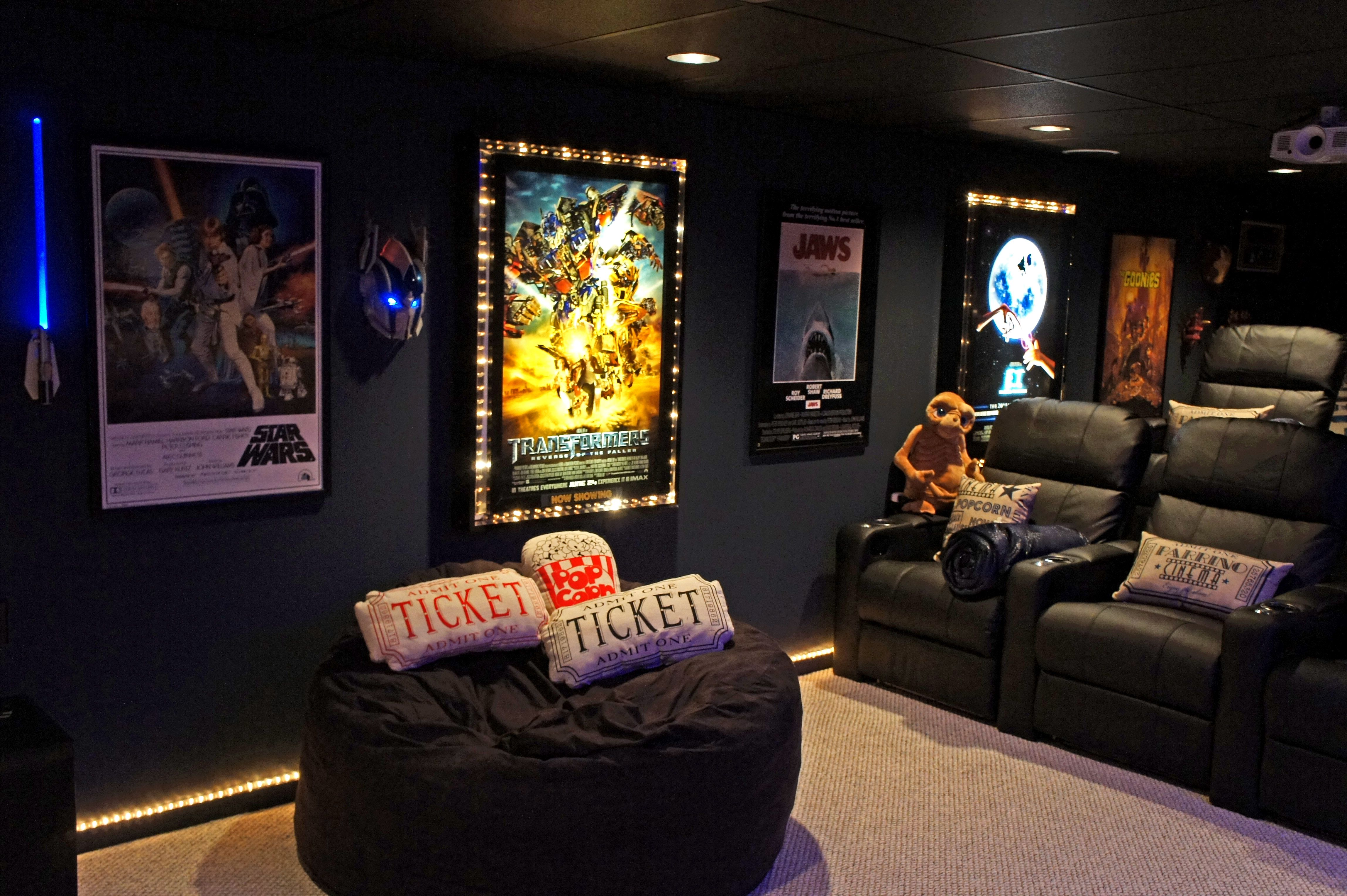 For The Home - Pinterest - Movie Rooms, Film Reels
