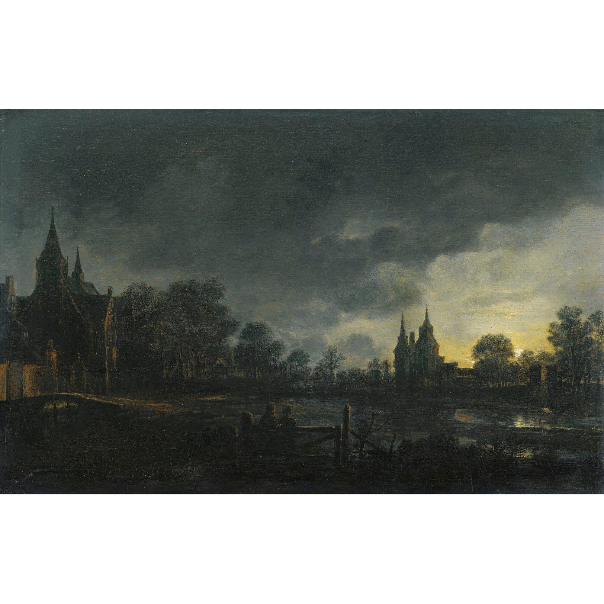 neer, aert van der a moonlit r ||| landscape ||| sotheby's l11037lot3s7kgen