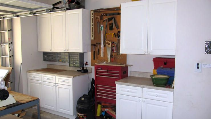 Reuse Old Kitchen Cabinets Http Www Rodalesorganiclife Home 11 Genius Garage Storage Solutions