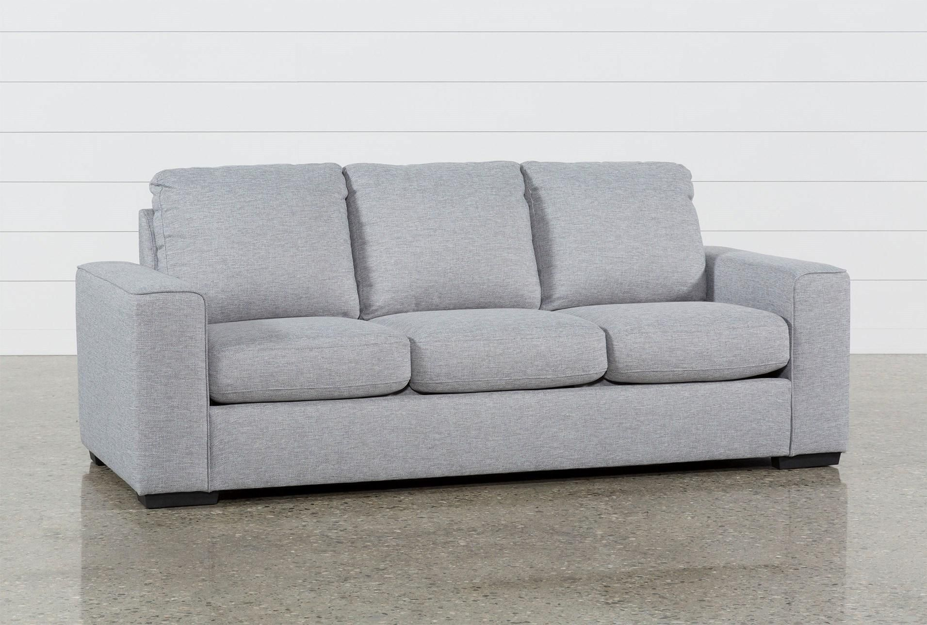 Lucy Grey Queen Sleeper Sofa How To Make Sofa Bed Modern Sleeper Sofa