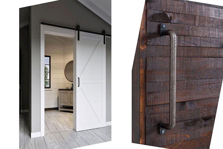 Barn Door Latches Wall Mount Sliding Door Hardware Decorative Barn Door Hinges In 2020 Doors Interior Sliding Barn Door Barn Door Hardware