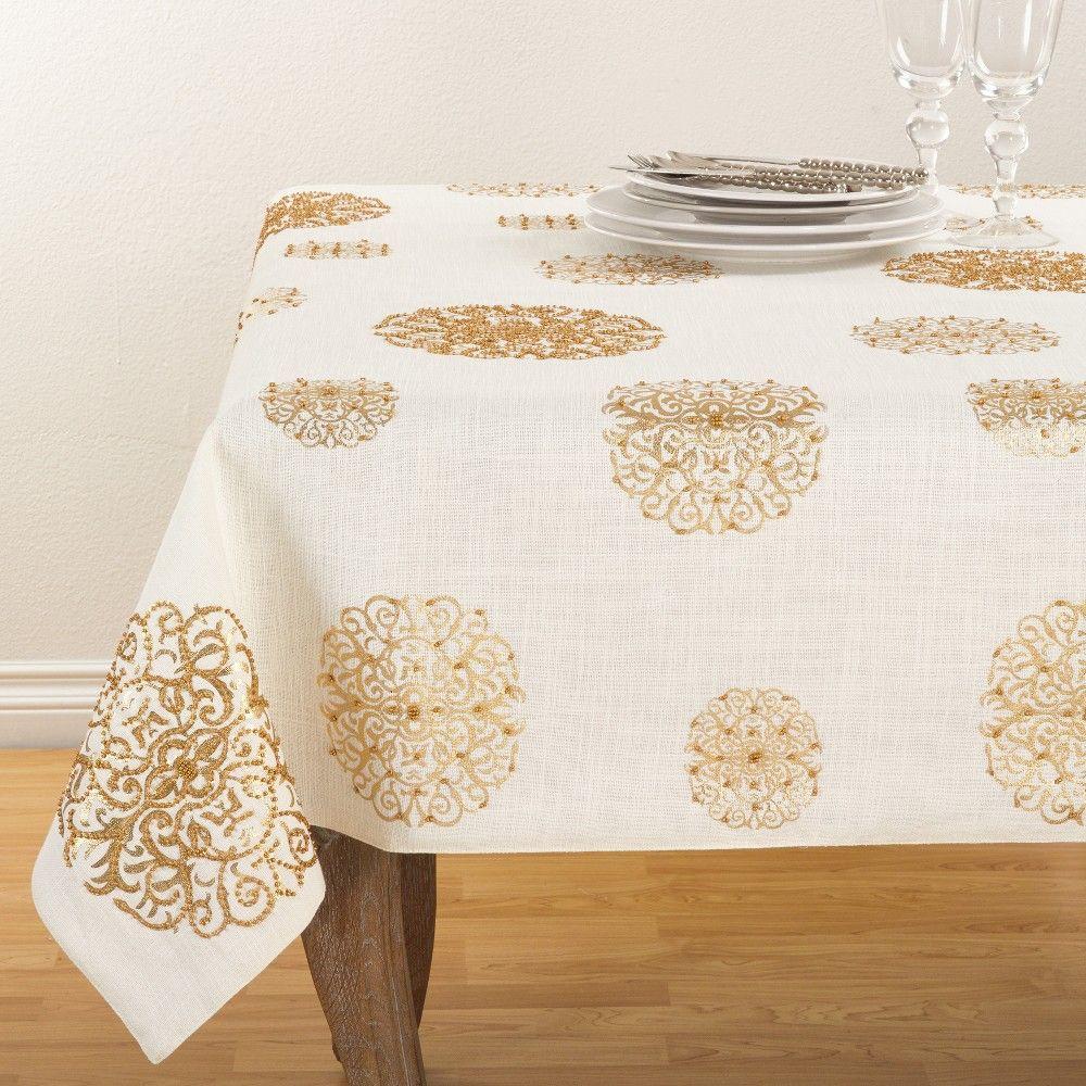 Tablecloth Light Off White Saro