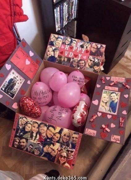 Außergewöhnlich Neue DIY-Geschenke zu Gunsten von Freundin-Ideen von Valentinsgruß-Freundinne... #giftsforboyfriend