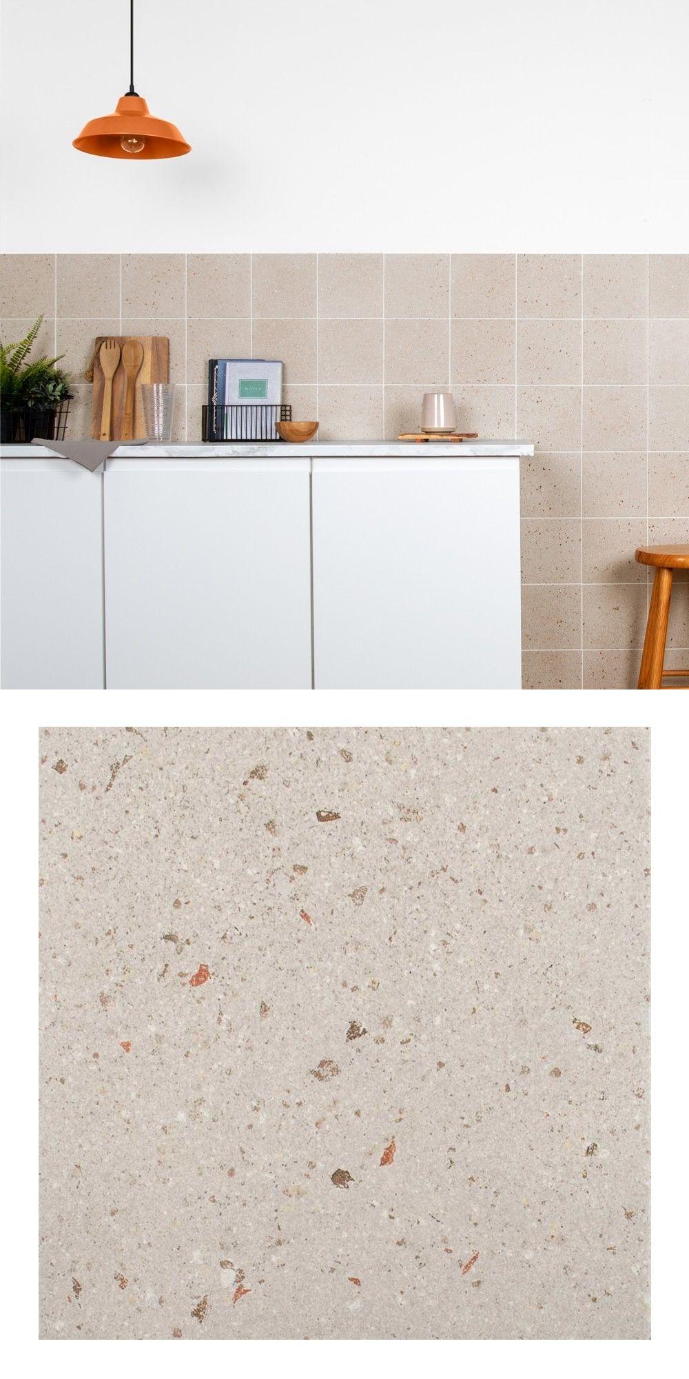 Dollymixx Beige Shroom Terrazzo Tiles in 2020 Terrazzo
