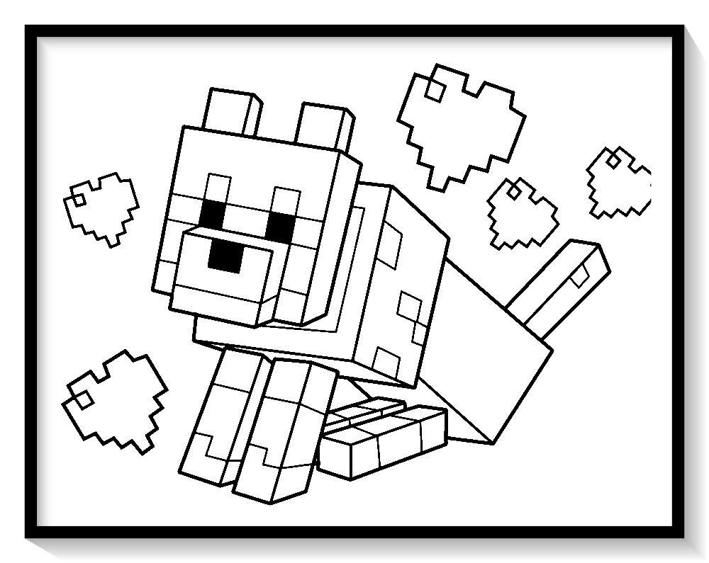 Minecraft Para Colorear 60 Imagenes Para Pintar Imagenes De Minecraft Imagenes Para Pintar Minecraft