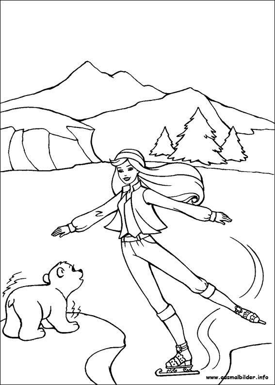 Barbie und der geheimnisvolle Pegasus malvorlagen | MEUS DESENHOS ...