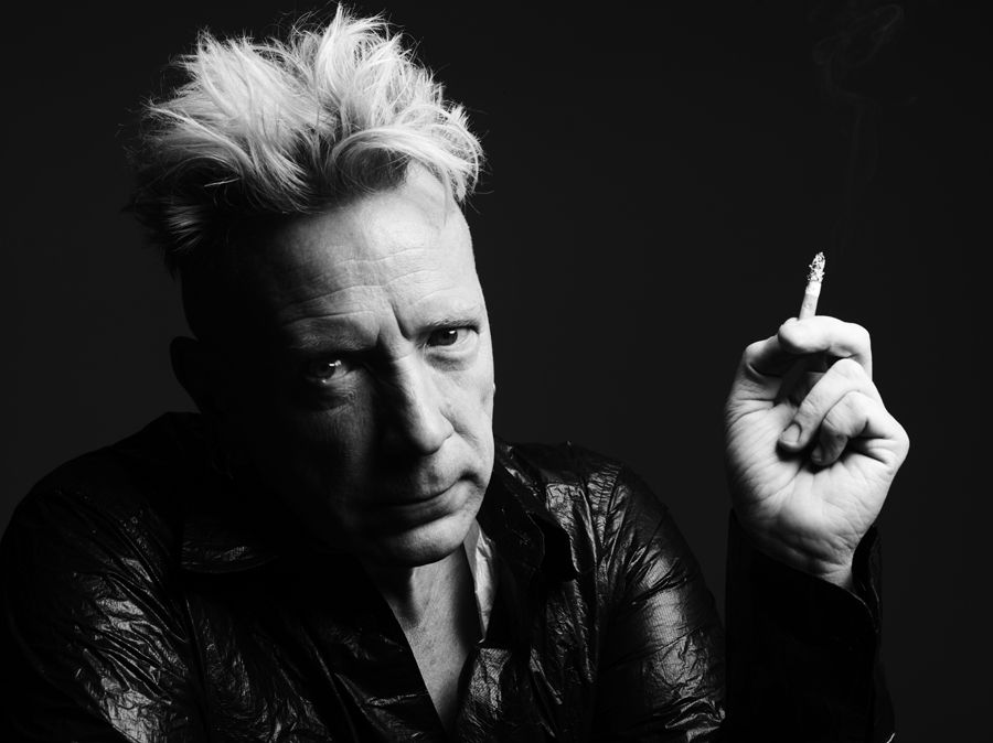 Johnny rotten neil young think, that