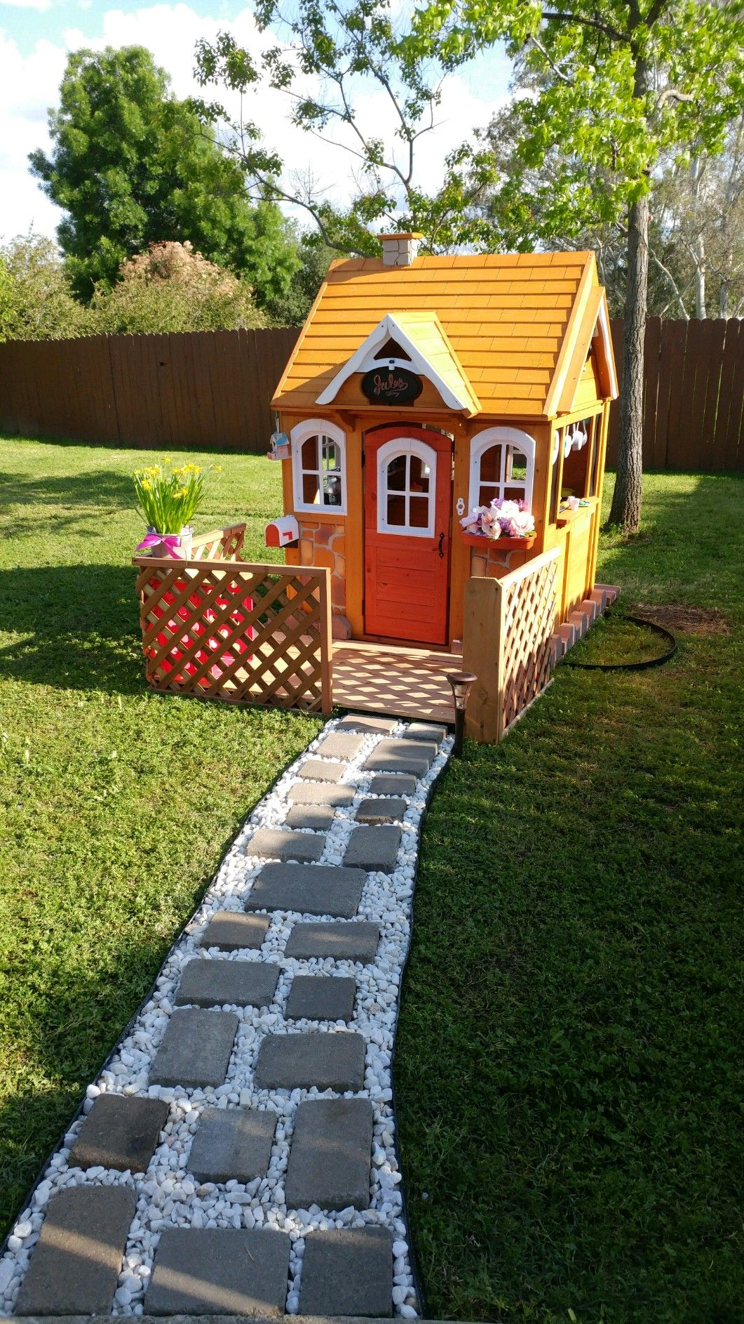 toddler playhouse with porch diy diy projects pinterest diy