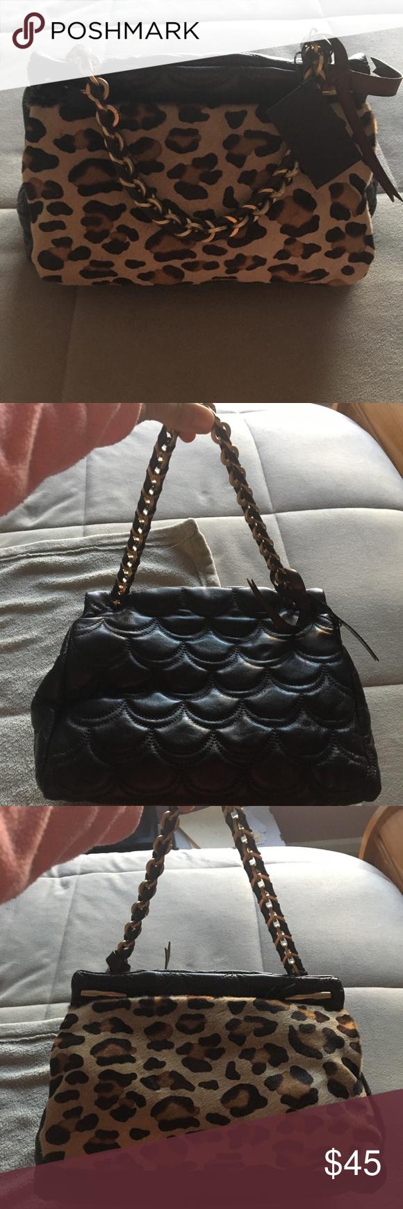 2f24fb69c0d7 Leather · DESMO HANDBAG ...