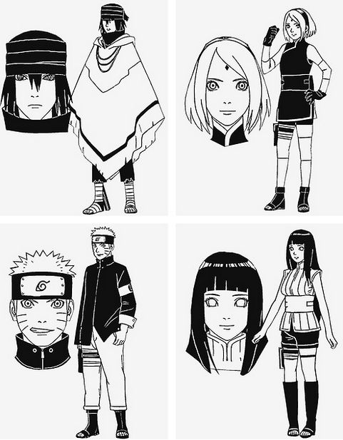 character design from the last naruto the movie naruto