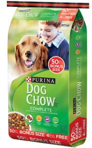 3.50 off ONE 50lb Purina Dog Chow Adult Dog food Coupon