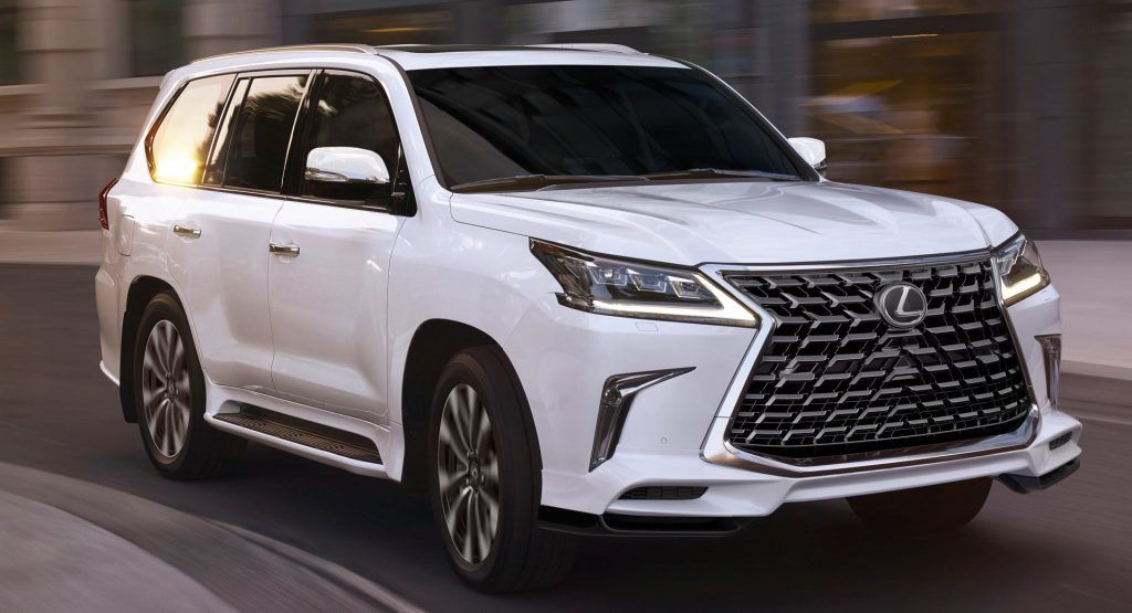 2021 Lexus Lx Gains New Inspiration Series And Updated Sport Package Carscoops In 2020 Lexus Suv Lexus Lx570 Lexus
