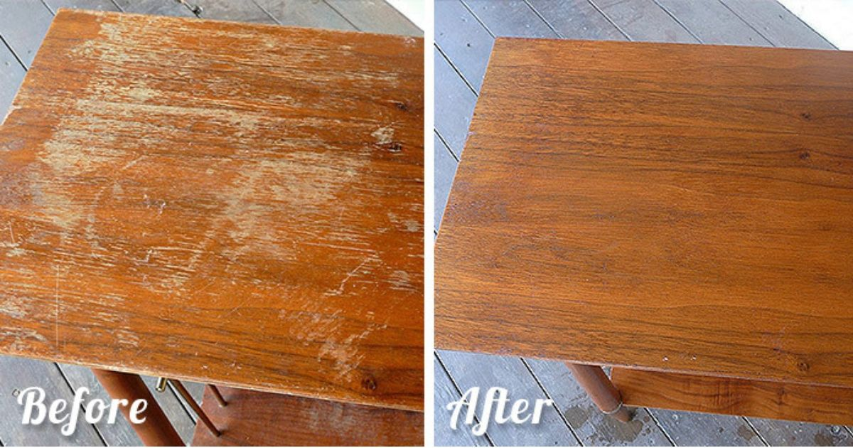 7 Hacks To Make Your Old Furniture Look New Again Cleaning